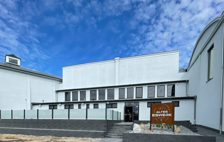 aktuelles Bild vom alten Eiswerk Bremerhaven